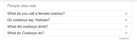 cowboy questions